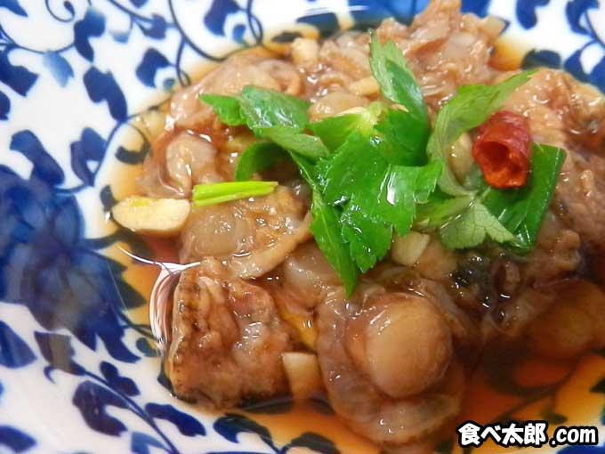 【帆立稚貝の香味醤油漬け】台湾のシジミ醤油漬け風にした酒肴レシピ