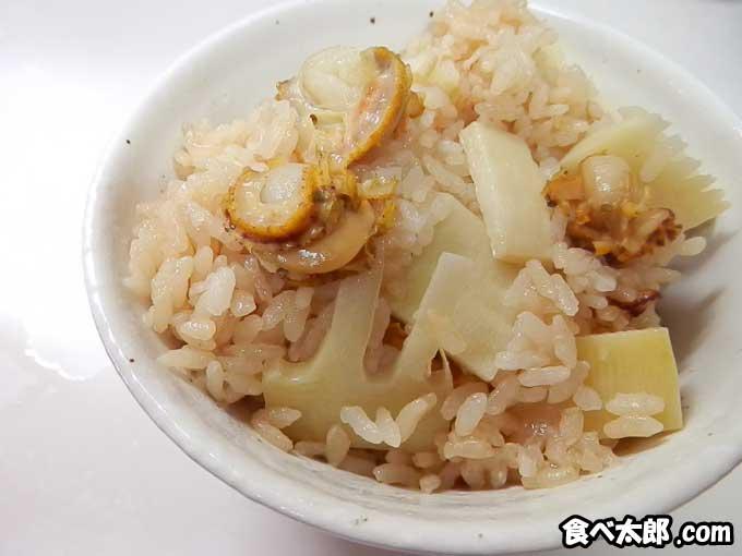 【帆立稚貝とタケノコの炊き込みご飯】土鍋炊きレシピ・ジャーでもOK