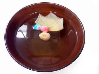 筍の姫皮のお吸い物