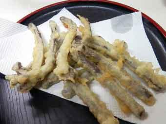 わらびの天ぷら