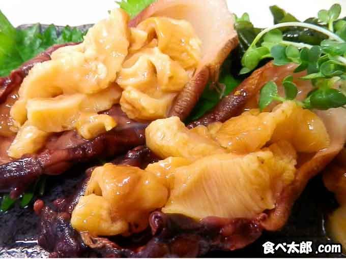 海鞘(ホヤ)の刺身