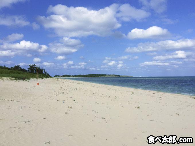 沖縄県久米島のイーフビーチ
