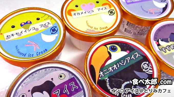 インコアイス6種類