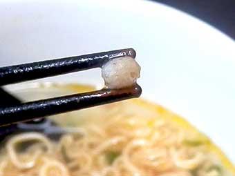 韓国風チキンピリ辛(業務スーパー)の具材の大豆肉
