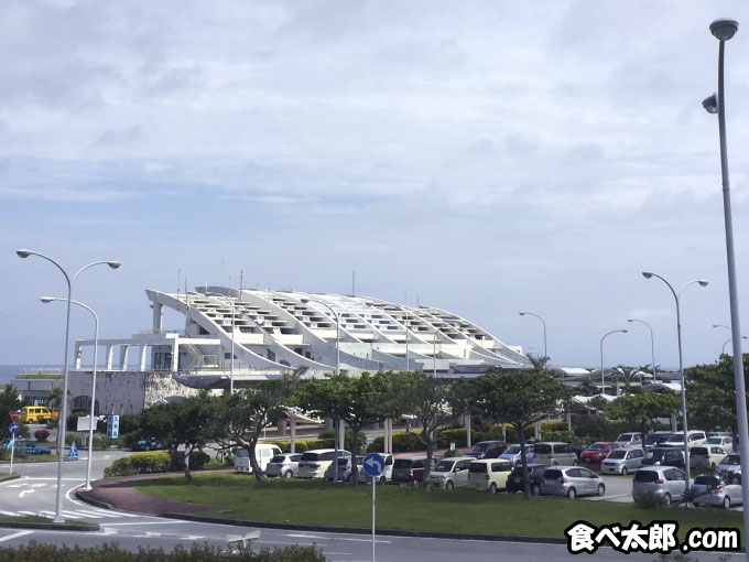 久米島空港の外観