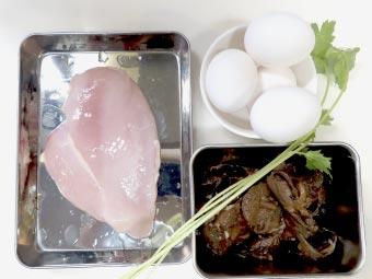 リメイク親子丼の材料