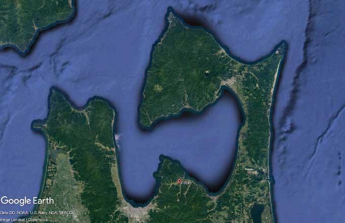 青森県の陸奥湾