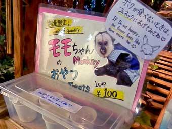 モモちゃんのおやつ1カップ100円@アウルの森