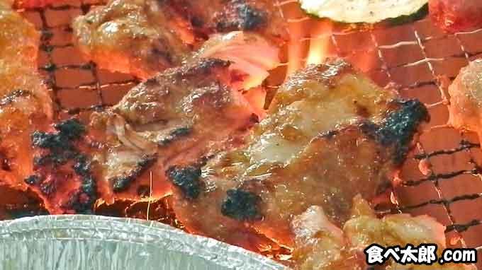 BBQで楽しむタンドリーチキン