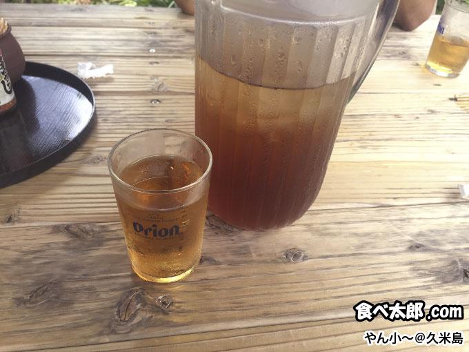冷たいさんぴん茶@やん小~