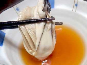 カキ鍋とゆずポン醤油